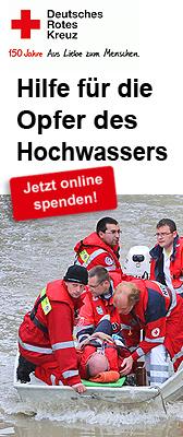Hilf für die Opfer des Hochwasser