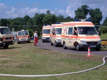 Fahrzeuge des Sanitätsdienst